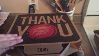 Triple Treat Pizza Hut Box Opening