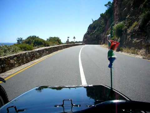 Driving sidecar on the Cape Peninsula