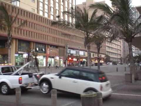 Bazar koło mola w Durbanie
