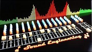 Mason Watkins Sound Engineering Video blip