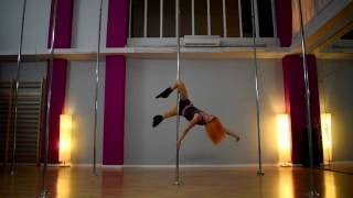 Pole Art Routine 91 - Level 7 (Kaleo - Way Down We Go)