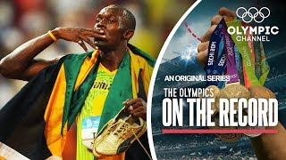 Usain Bolt Breaks 100m World Record in Beijing 2008   The Olympics On The Record