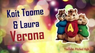Koit Toome and Laura - Verona (Chipmunk Version)