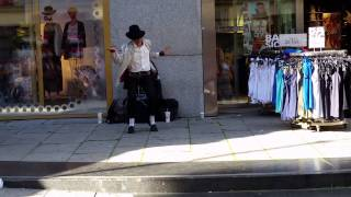 MJ impersonator in Oslo  - Smooth Criminal