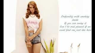 Lana Del Rey - Queen of the Gas Station Instrumental (with lyrics)