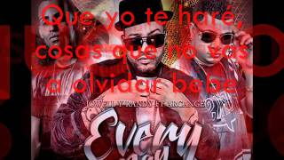 Every Day Jowel y Randy ft Arcangel (Letra 2015)