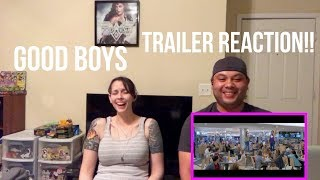 Good Boys - Official Red Band Trailer - REACTION!!