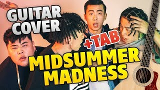 88RISING – Midsummer Madness (fingerstyle guitar cover, guitar tabs)