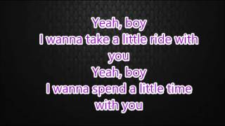 yeah boy (lyrics)