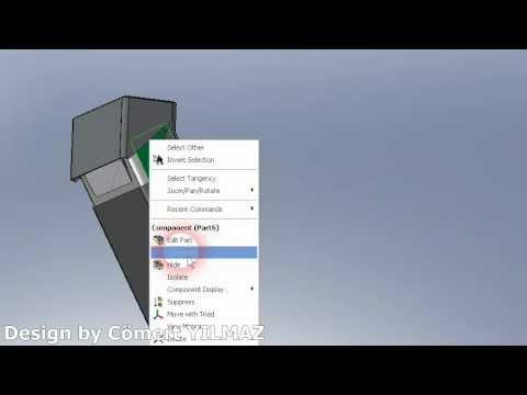 Solid Works Seet Metal Çalışması & Kalıp Tasarımı