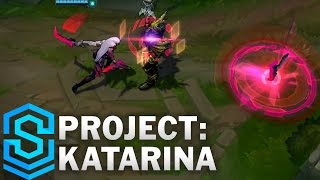PROJECT Katarina Skin Spotlight - Assassin Update 2016 - League of Legends