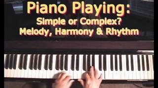 - Melody, Rhythm & Harmony - The 3 Basic Elements Of Music -
