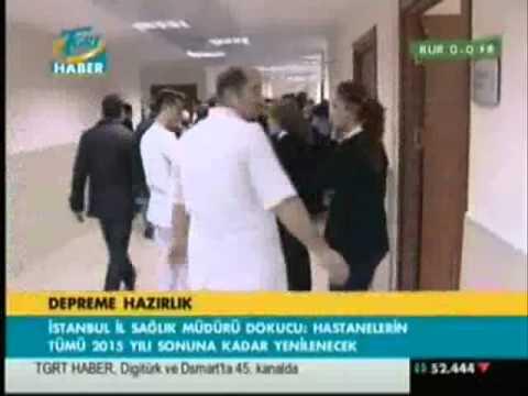 TGRT HABER PROF. DR. ALİ İHSAN DOKUCU İSTANBULDA SAĞLIK YATIRIML.wmv