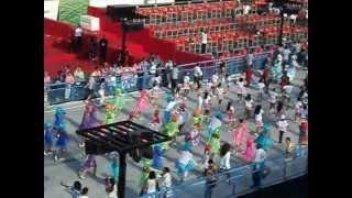 Desfile Escola De Samba Mirim Filhos da Águia 2013