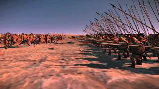 Total War: Rome 2 - Charging a pike phalanx, HEAD ON!