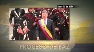 Cronología de las negociaciones entre el Gobierno colombiano y las Farc [Noticias] - TeleMedellin