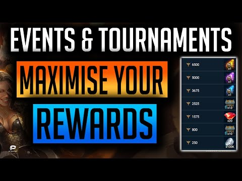 RAID: Shadow Legends | How to complete Tournament & Events!