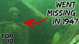 Top 10 Unbelievable Discoveries Found At The Bottom Of The Ocean