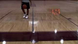 Teaching Basketball: How to do a Behind the Back Spin Crossover
