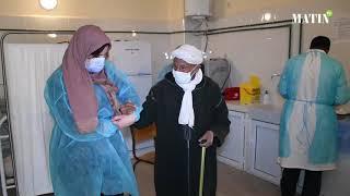 L'opération de vaccination se poursuit : L'exemple au centre de Santé rural Msemrir à Tinghir