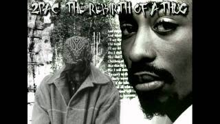 2Pac - My Only Fear Of Death(rebirth of a thug version)