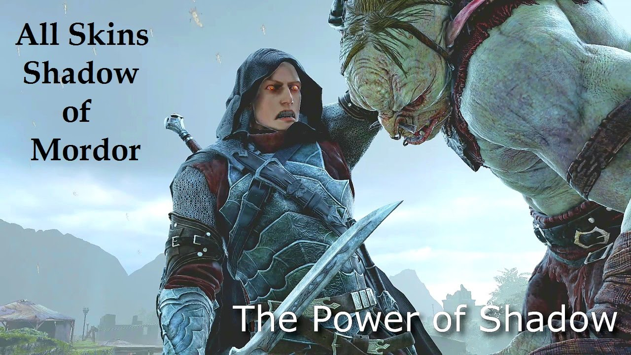 Shadow of Mordor All skins. Middle Earth outfits and character customization