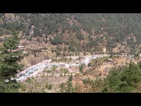 SANY0062.MP4 Cheplung-Thadokosi-Ghat(ナムチェ-ルクラ間) / Everest Trekking View