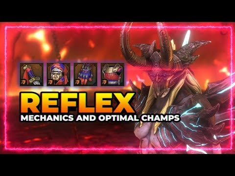 REFLEX Set Guide! Mechanics & Optimal Champs! | RAID Shadow Legends