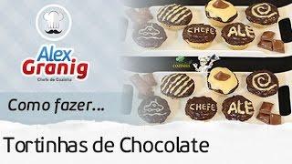 ?TORTINHAS DE CHOCOLATE FÁCIL