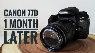 Canon 77D - 1 Month Later (Mini Review)