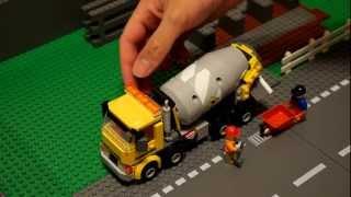 LEGO: 60018 concrete mixer