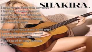Shakira   Broken Record LYRICS