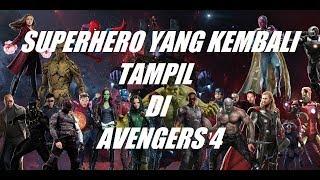 [CONFIRMED!] MARVEL SUPERHERO YANG AKAN KEMBALI TAMPIL DI AVENGERS 4 - INFINITY WAR PART 2