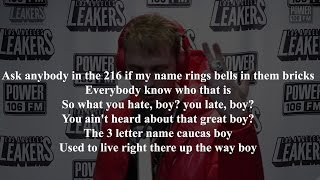 Machine Gun Kelly | LA Leakers Freestyle | Lyrics video !
