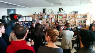 Pixies Tiny Desk: Where is my mind (mic check)