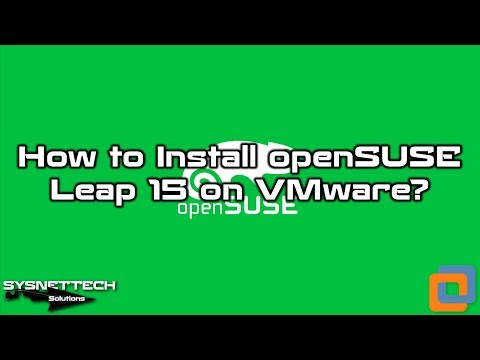 VMware openSUSE Installation Video