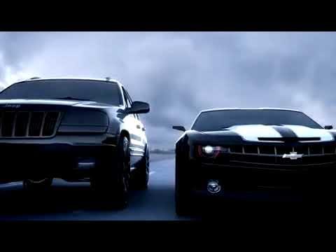 3ds MAX - Shelby Vs Camaro Vs Cherokee Vs Lada