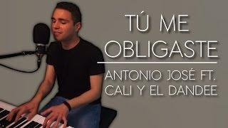 Antonio José - Tú me obligaste (ft. Cali y el Dandee) (Cover acústica)| Iker Estalayo (Piano y voz)