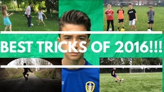 THE BEST FOOTBALL/SOCCER TRICKS AND SKILLS OF 2016 - 12/13 YEAR OLD