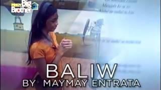 """"""" Music Video """" Baliw Na Baliw -- By Maymay Entrata And Edward Barber"""