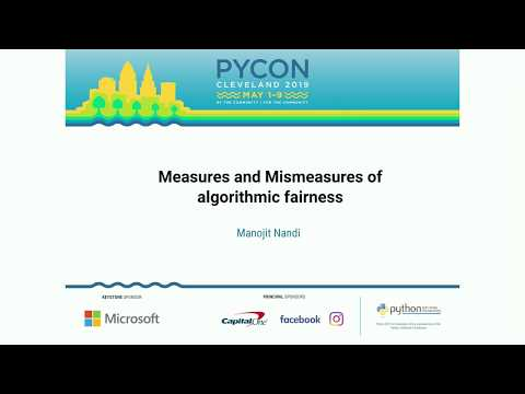 Measures and Mismeasures of algorithmic fairness