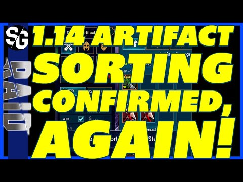 RAID SHADOW LEGENDS | 1.14 ARTIFACT SORTING! IS IT REAL?