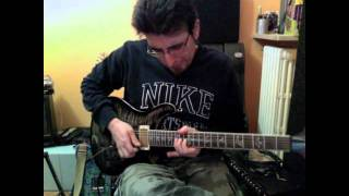 Deep Purple Sometimes I feel like screaming Steve Morse solo cover by Andrea Cesone