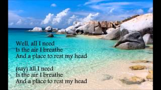 OneRepublic - (Say) All I Need lyrics
