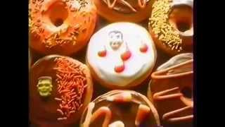 Dunkin' Donuts Halloween commercial from the early to mid 90's!