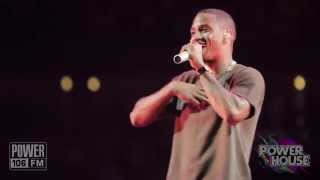 "Trey Songz: ""Oh Na Na"" Live Performance at POWERHOUSE 2014"