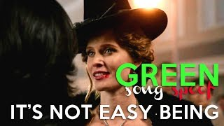 IT'S NOT EASY BEING GREEN - crack!vid || once upon a time