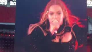 Beyoncé Run the world - live Wembley 2016
