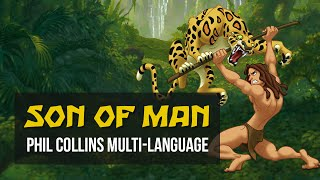 Son of Man Multilanguage! - Tarzan - Phil Collins Versions