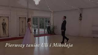 Pierwszy taniec Urszuli i Mikołaja 08.09.2017 r.